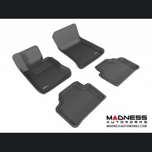 BMW X1 (E84) Floor Mats (Set of 4) - Black by 3D MAXpider