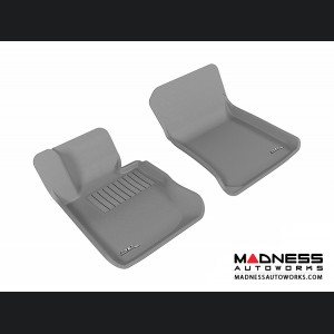 BMW X1 (E84) Floor Mats (Set of 2) - Front - Gray by 3D MAXpider