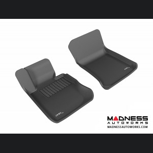 BMW X1 (E84) Floor Mats (Set of 2) - Front - Black by 3D MAXpider