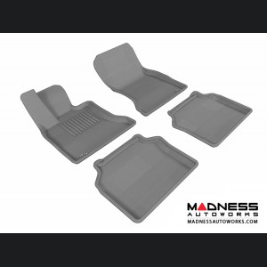 BMW 5 Series Gran Turismo (F07) Floor Mats (Set of 4) - Gray by 3D MAXpider