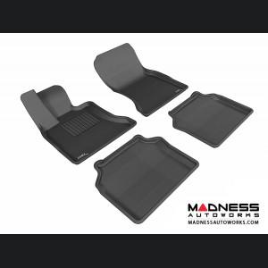 BMW 5 Series Gran Turismo (F07) Floor Mats (Set of 4) - Black by 3D MAXpider