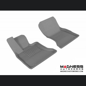 BMW 5 Series Gran Turismo (F07) Floor Mats (Set of 2) - Front - Gray by 3D MAXpider