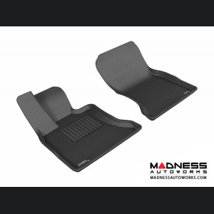 BMW 5 Series Gran Turismo (F07) Floor Mats (Set of 2) - Front - Black by 3D MAXpider