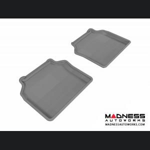 BMW 5 Series Gran Turismo (F07) Floor Mats (Set of 2) - Rear - Gray by 3D MAXpider