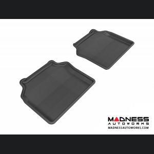 BMW 5 Series Gran Turismo (F07) Floor Mats (Set of 2) - Rear - Black by 3D MAXpider
