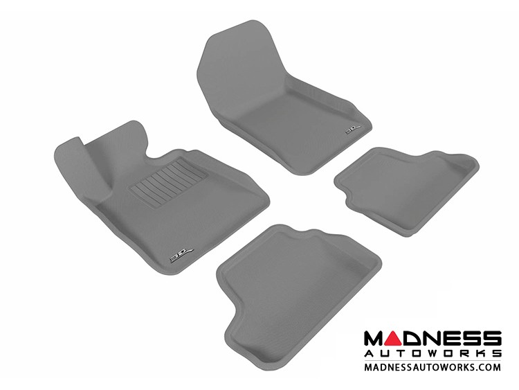 BMW 3 Series Convertible (E93) Floor Mats (Set of 4) - Gray by 3D MAXpider