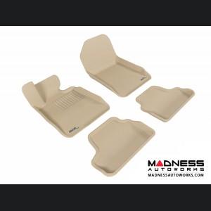 BMW 3 Series Convertible (E93) Floor Mats (Set of 4) - Tan by 3D MAXpider