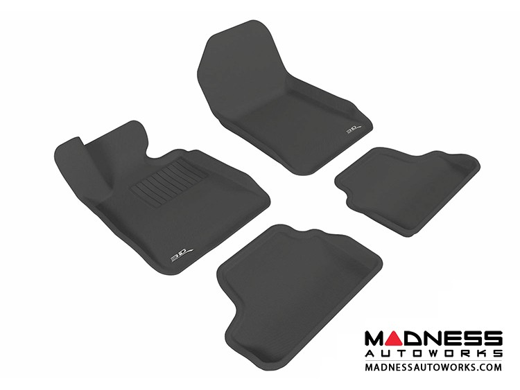 BMW 3 Series Convertible (E93) Floor Mats (Set of 4) - Black by 3D MAXpider