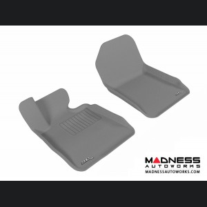 BMW 3 Series Convertible (E93) Floor Mats (Set of 2) - Front - Gray by 3D MAXpider