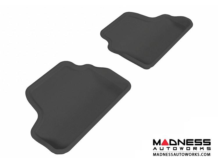 BMW 3 Series Convertible (E93) Floor Mats (Set of 2) - Rear - Black by 3D MAXpider