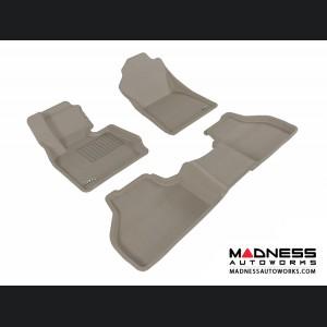 BMW X3 (F25)/ X4 (F26) Floor Mats (Set of 3) - Gray by 3D MAXpider