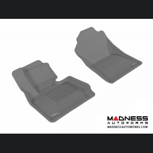 BMW X3 (F25)/ X4 (F26) Floor Mats (Set of 2) - Front - Gray by 3D MAXpider