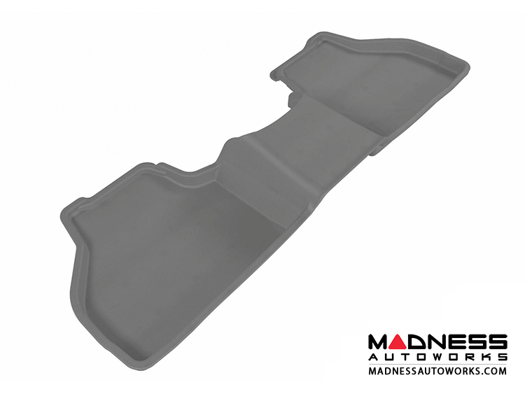 BMW X3 (F25)/ X4 (F26) Floor Mat - Rear - Gray by 3D MAXpider