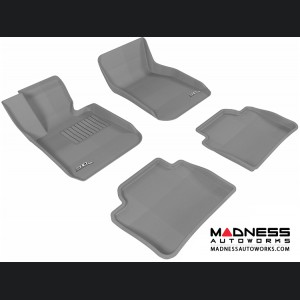 BMW 3 Series (F30) Floor Mats (Set of 4) - Gray by 3D MAXpider
