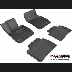 BMW 3 Series (F30) Floor Mats (Set of 4) - Black by 3D MAXpider