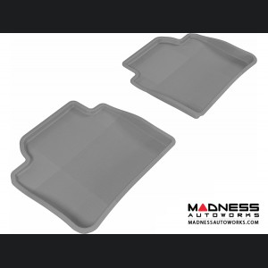 BMW 3 Series (F30)/ 4 Series (F36) Floor Mats (Set of 2) - Rear - Gray by 3D MAXpider