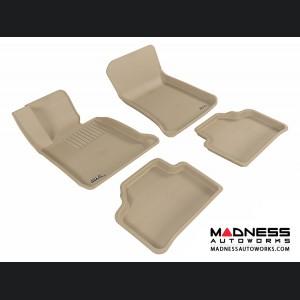 BMW X1 (E84) Floor Mats (Set of 4) - Tan by 3D MAXpider