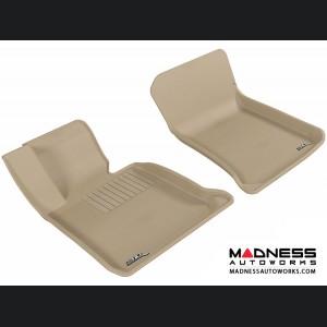 BMW X1 (E84) Floor Mats (Set of 2) - Front - Tan by 3D MAXpider