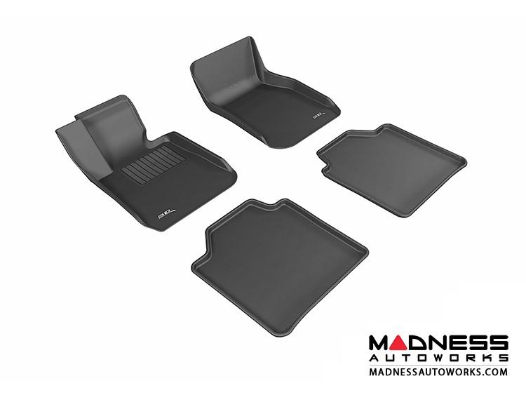 BMW 3 Series Gran Turismo (F34) Floor Mats (Set of 4) - Black by 3D MAXpider