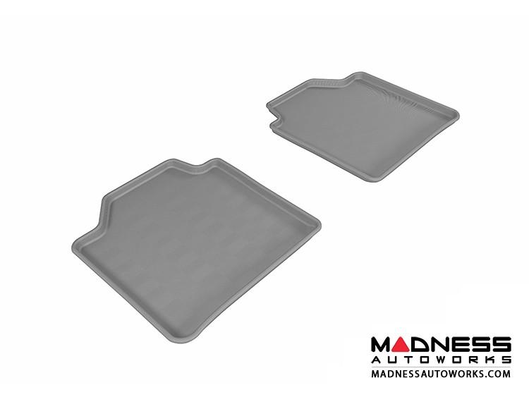 BMW 3 Series Gran Turismo (F34) Floor Mats (Set of 2) - Rear - Gray by 3D MAXpider