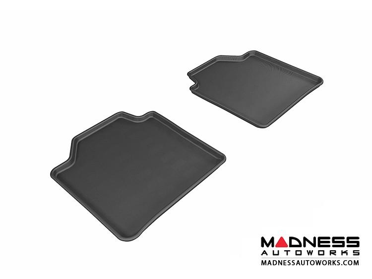 BMW 3 Series Gran Turismo (F34) Floor Mats (Set of 2) - Rear - Black by 3D MAXpider