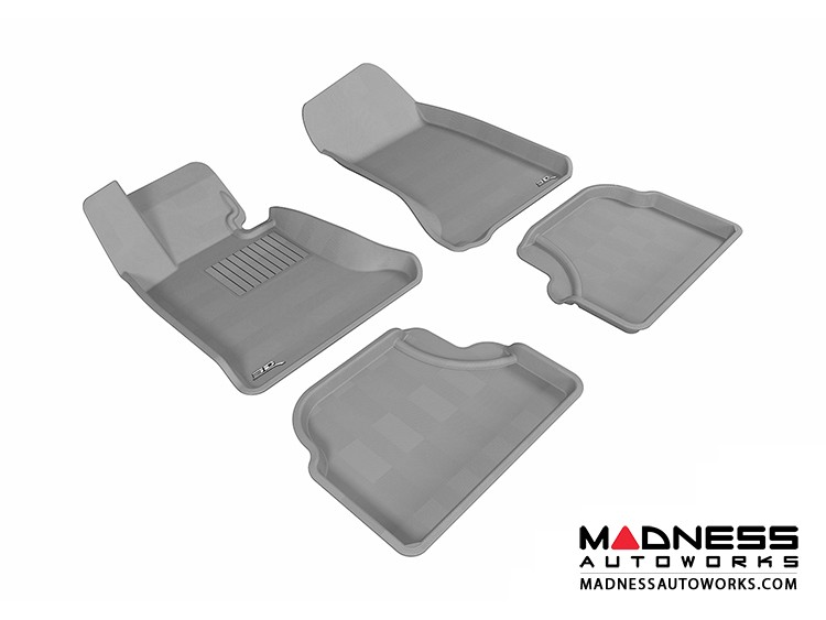 BMW 5 Series (E60) Floor Mats (Set of 4) - Gray by 3D MAXpider