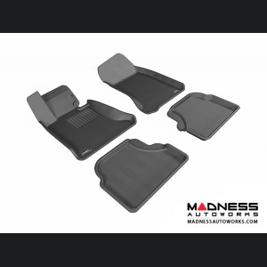 BMW 5 Series (E60) Floor Mats (Set of 4) - Black by 3D MAXpider