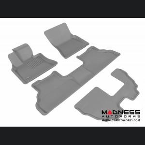 BMW X5 (E70) Floor Mats (Set of 4) - Gray by 3D MAXpider