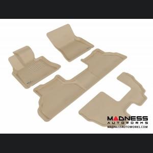 BMW X5 (E70) Floor Mats (Set of 4) - Tan by 3D MAXpider