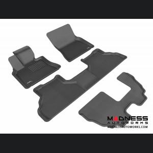 BMW X5 (E70) Floor Mats (Set of 4) - Black by 3D MAXpider