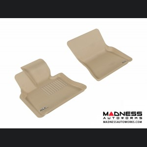 BMW X5 (E70)/ X6 (E71) Floor Mats (Set of 2) - Front - Tan by 3D MAXpider