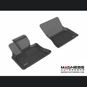 BMW X5 (E70)/ X6 (E71) Floor Mats (Set of 2) - Front - Black by 3D MAXpider