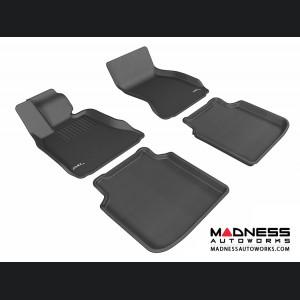 BMW 7 Series LI (F02) (F04) Floor Mats (Set of 4) - Black by 3D MAXpider