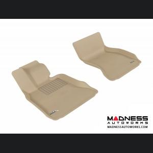 BMW 7 Series (F01)/ LI (F02) (F04) Floor Mats (Set of 2) - Front - Tan by 3D MAXpider