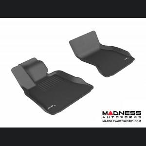 BMW 7 Series (F01)/ LI (F02) (F04) Floor Mats (Set of 2) - Front - Black by 3D MAXpider