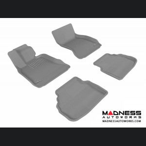 BMW 7 Series (F01) Floor Mats (Set of 4) - Gray by 3D MAXpider