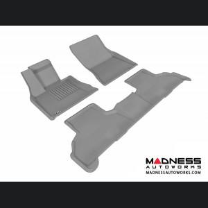 BMW X5 (F15) Floor Mats (Set of 3) - Gray by 3D MAXpider