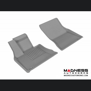 BMW X5 (F15) Floor Mats (Set of 2) - Front - Gray by 3D MAXpider