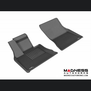 BMW X5 (F15) Floor Mats (Set of 2) - Front - Black by 3D MAXpider