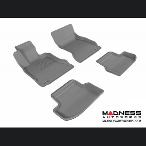 BMW 5 Series (F10) Floor Mats (Set of 4) - Gray by 3D MAXpider