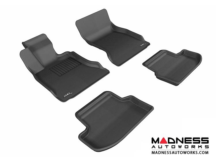 BMW 5 Series (F10) Floor Mats (Set of 4) - Black by 3D MAXpider