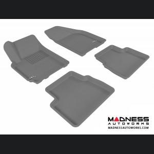 Chevrolet Aveo Floor Mats (Set of 4) - Gray by 3D MAXpider (2007-2011)