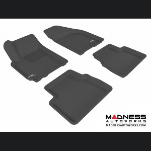 Chevrolet Aveo Floor Mats (Set of 4) - Black by 3D MAXpider (2007-2011)
