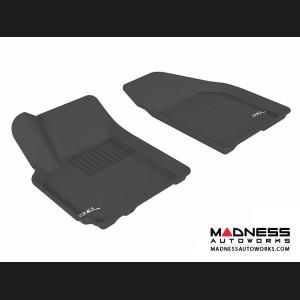 Chevrolet Aveo Floor Mats (Set of 2) - Front - Black by 3D MAXpider (2007-2011)