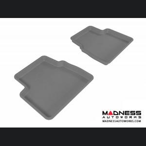 Chevrolet Aveo Floor Mats (Set of 2) - Rear - Gray by 3D MAXpider (2007-2011)