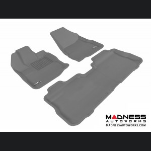 Chevrolet Equinox Floor Mats (Set of 3) - Gray by 3D MAXpider (2010-2015)