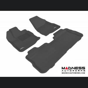 Chevrolet Equinox Floor Mats (Set of 3) - Black by 3D MAXpider (2010-2015)