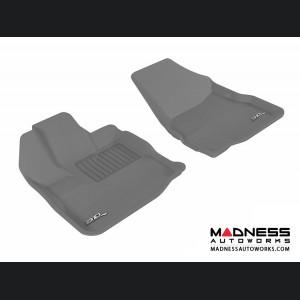Chevrolet/ GMC Equinox/ Terrain Floor Mats (Set of 2) - Front - Gray by 3D MAXpider (2010-2015)