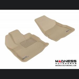 Chevrolet/ GMC Equinox/ Terrain Floor Mats (Set of 2) - Front - Tan by 3D MAXpider (2010-2015)