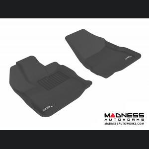 Chevrolet/ GMC Equinox/ Terrain Floor Mats (Set of 2) - Front - Black by 3D MAXpider (2010-2015)
